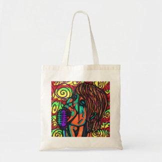 Tote Bag Chanteur coloré Fourre-tout