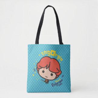 Tote Bag Charme de Ron Weasley Engorgio de bande dessinée