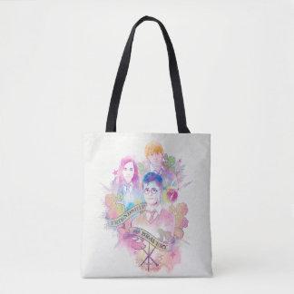 Tote Bag Charme | Harry, Hermione, et Ron Waterc de Harry