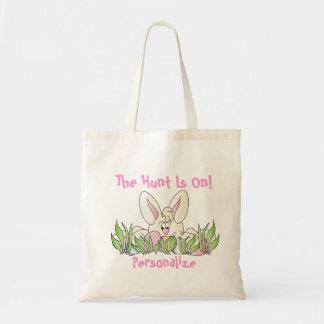 Tote Bag Chasse à oeuf de pâques - personnalisez