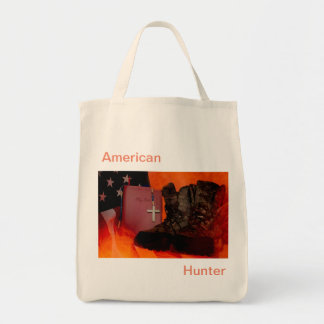 Tote Bag Chasseur américain
