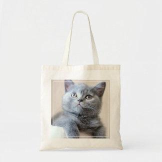 Tote Bag Chat britannique gris de Shorthair