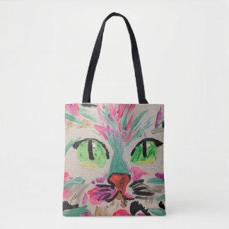 Tote Bag Chat fourre-tout