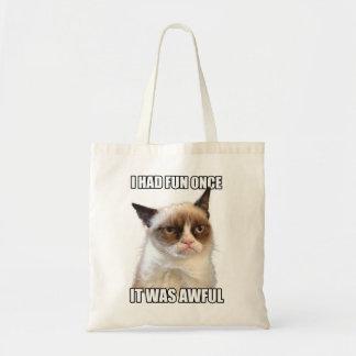 Tote Bag Chat grincheux Fourre-tout