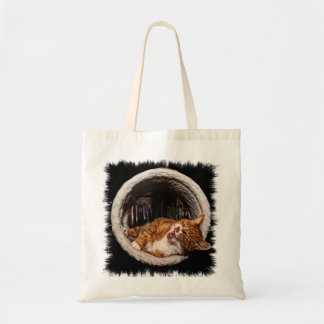 Tote Bag Chat riant Fourre-tout