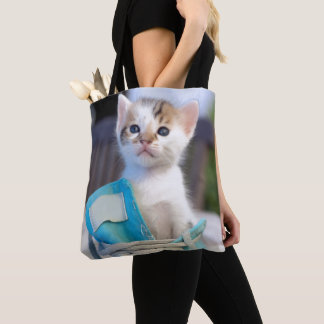 Tote Bag Chaton dans une chaussure