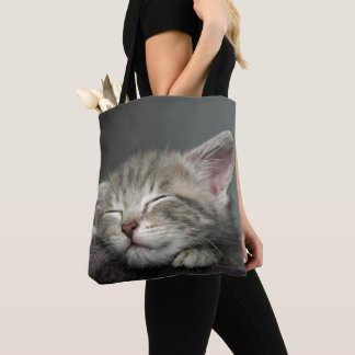 Tote Bag Chaton somnolent