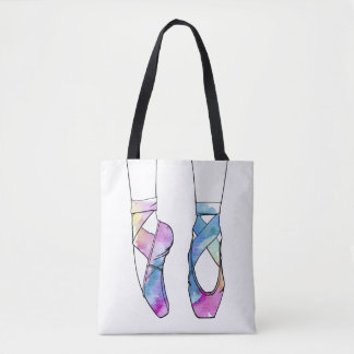 Tote Bag Chaussures de ballet mignonnes de danse