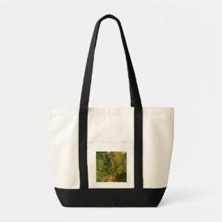 Tote Bag Chemin boisé de Claude Monet |