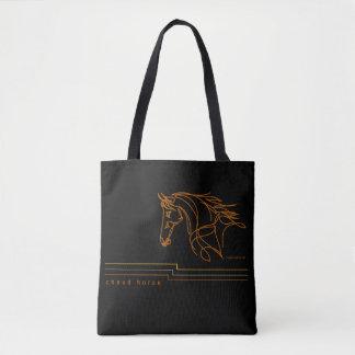 Tote Bag Cheval de Chaud