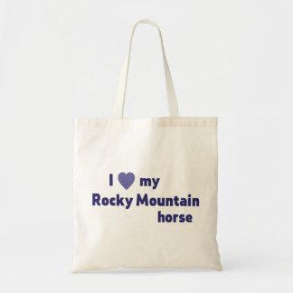 Tote Bag Cheval de montagne rocheuse