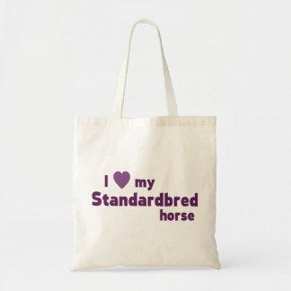 Tote Bag Cheval de Standardbred