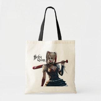Tote Bag Chevalier de Batman Arkham | Harley Quinn avec la