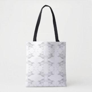 Tote Bag Chevaux de Dala