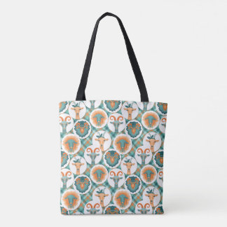 Tote Bag Chèvres de hippie | par TotallyGoatally™
