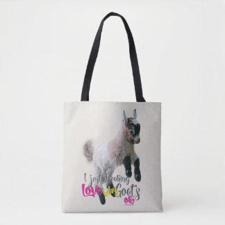 Tote Bag Chèvres Freaking de bébé d'AMOUR de l'AMOUR   de