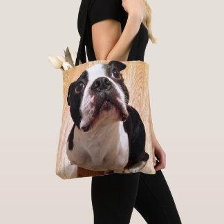 Tote Bag Chien de Boston Terrier