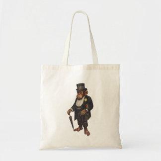 Tote Bag Chimpanzé drôle - rétro singe - monkey le