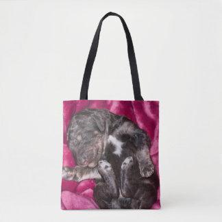 Tote Bag Chiot adorable de caniche de sommeil