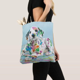 Tote Bag Chiot dalmatien