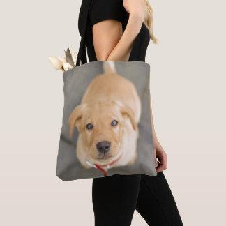 Tote Bag Chiot rouge de Labrador