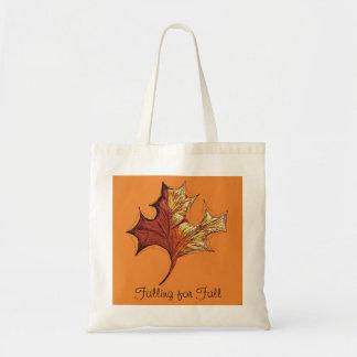 Tote Bag Chute pour l'automne