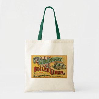 Tote Bag Cidre bouilli par gelée vintage Vermont de