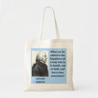 Tote Bag citation de forgeron d'Adam
