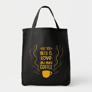 Tote Bag Citation drôle de dépendance d'amant de caféine de