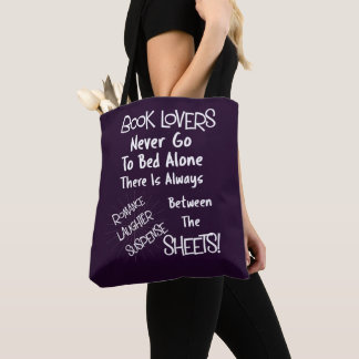 Tote Bag Citation drôle des textes d'amoureux des livres