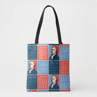 Tote Bag Citations d'Alexander Hamilton