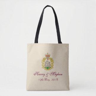 Tote Bag Classique royal Fourre-tout de Harry et de mariage