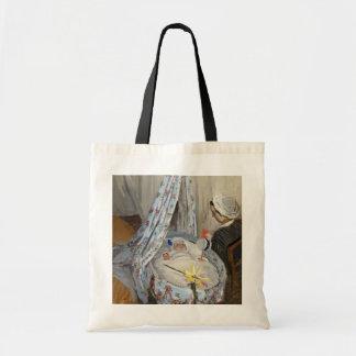 Tote Bag Claude Monet | le berceau, Camille avec le fils