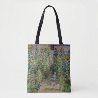 Tote Bag Claude Monet   le jardin de l'artiste chez