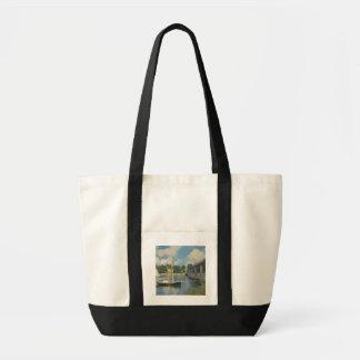 Tote Bag Claude Monet | le pont à Argenteuil