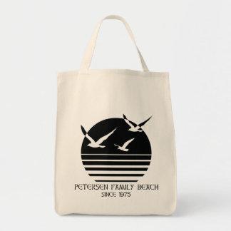 Tote Bag Client Fourre-tout de plage de famille de Petersen