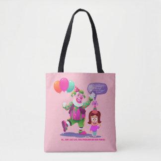 Tote Bag Clown d'anniversaire - humour brut d'anniversaire