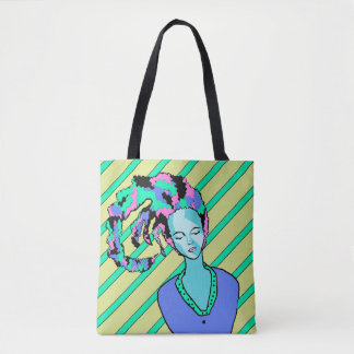 Tote Bag Clown de sommeil Dawing