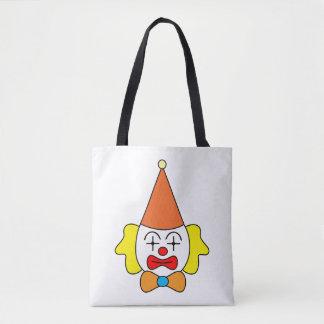 Tote Bag Clown - visage drôle