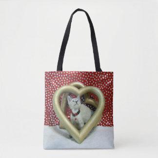 Tote Bag Coeurs de Phoenix pour vous Valentine Fourre-tout