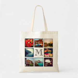 Tote Bag Collage fait sur commande de photo d'Instagram de