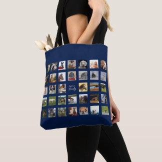 Tote Bag COLLAGE Fourre-tout de 34 PHOTOS - peut la COULEUR