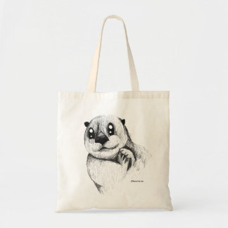Tote Bag Collection animale - loutre