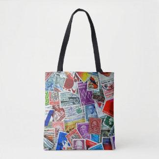 Tote Bag collection de timbre-poste