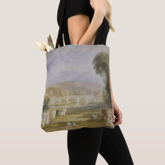 Tote Bag Colline de Richmond et pont, Surrey