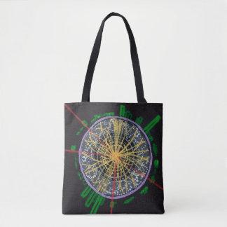 Tote Bag Collisions de Proton au LHC fourre-tout double