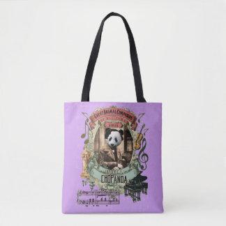 Tote Bag Compositeur animal drôle Chopin de Chopanda Pand
