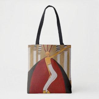 Tote Bag Concepteur de ZenobiaArt/sac à main vintage