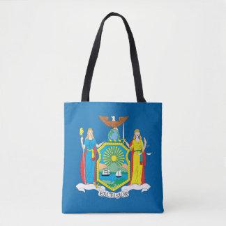 Tote Bag Conception de drapeau de NEW YORK -