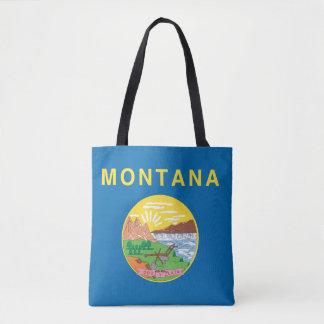 Tote Bag Conception de drapeau du MONTANA -